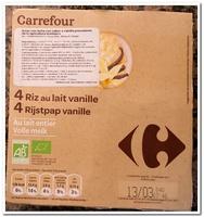 Riz au lait vanille - Producto - es