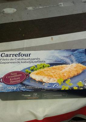 Filet de Cabillaud Pané - Produit - fr
