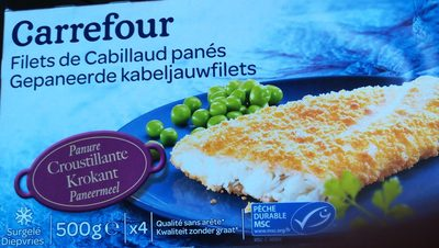 Filet de Cabillaud Pané - Ingrédients - fr
