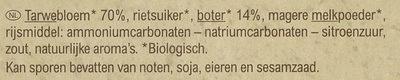 Petit beurre - Ingrediënten - nl