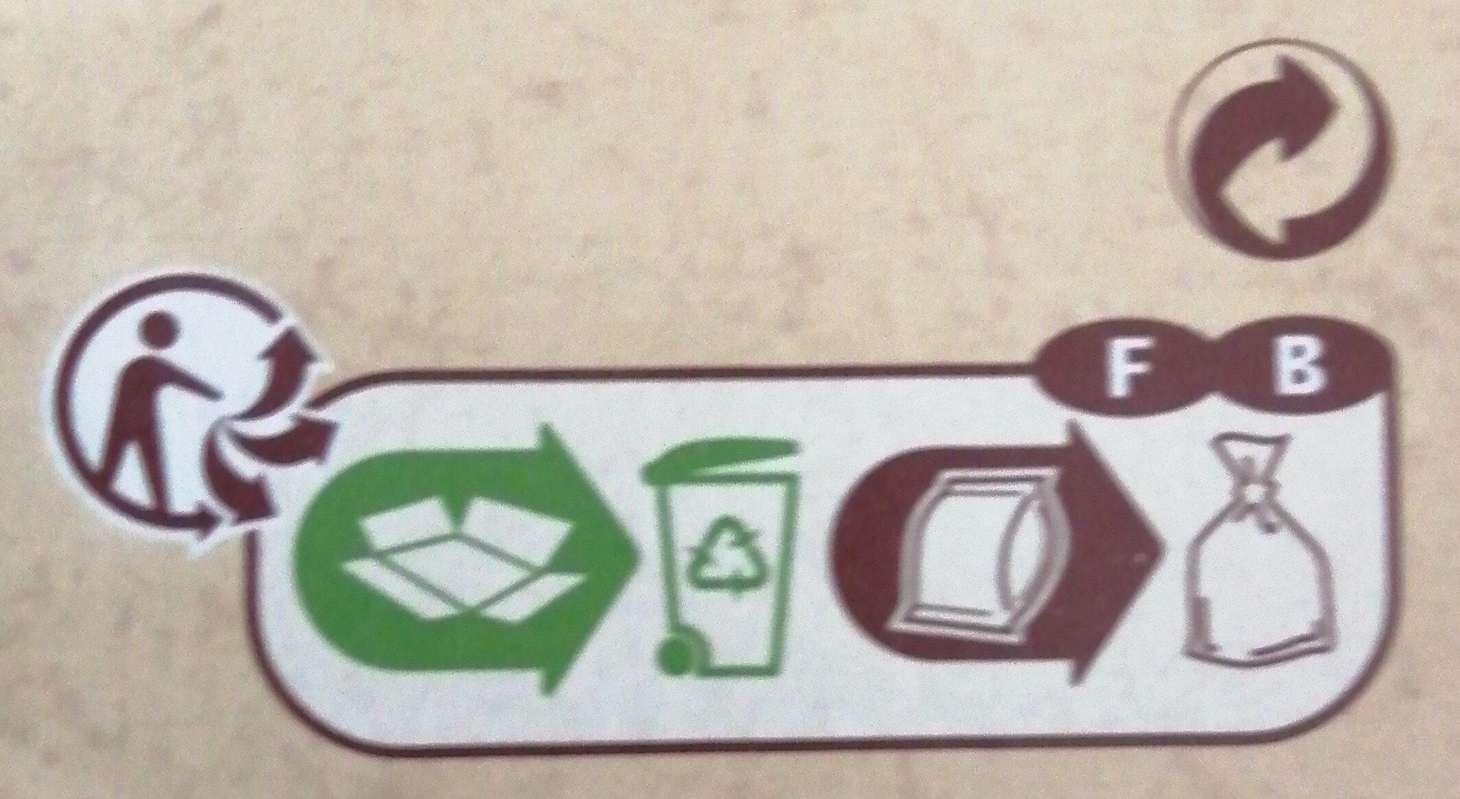 Petit beurre - Istruzioni per il riciclaggio e/o informazioni sull'imballaggio - fr
