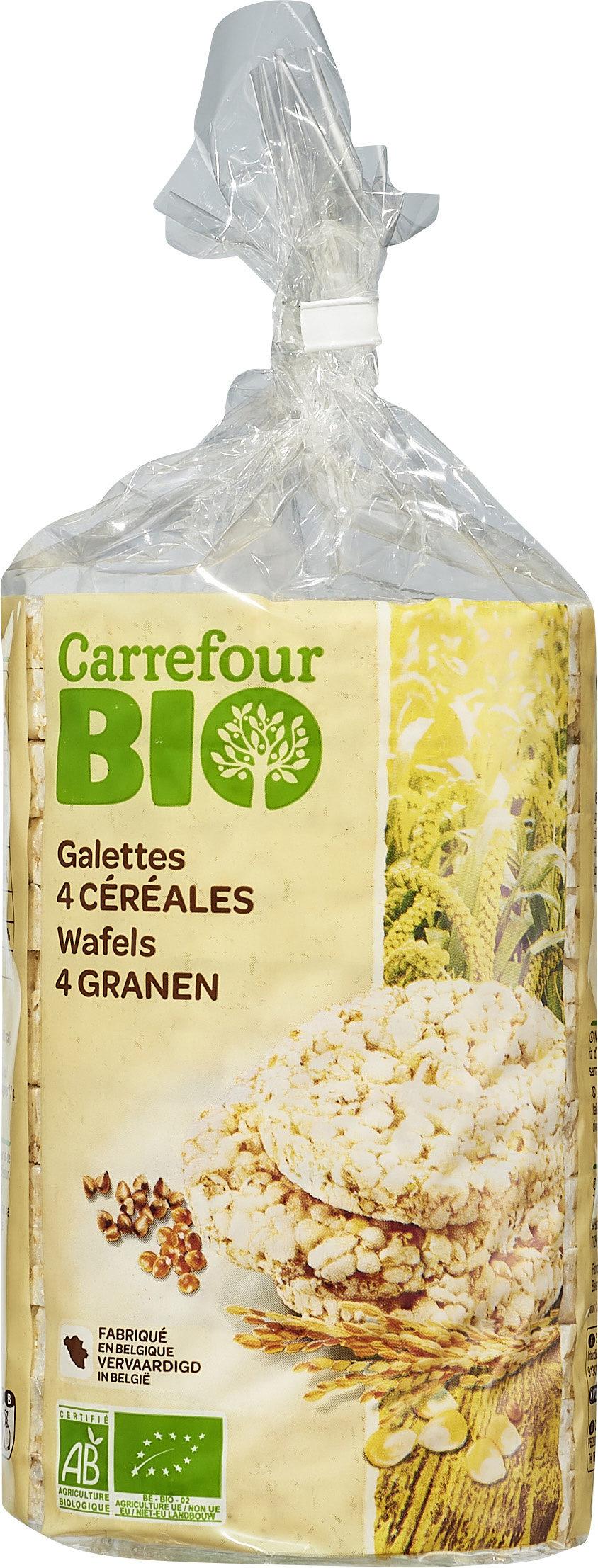 Galettes 4 céréales - Product