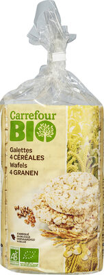 Galettes 4 céréales - Produit - fr