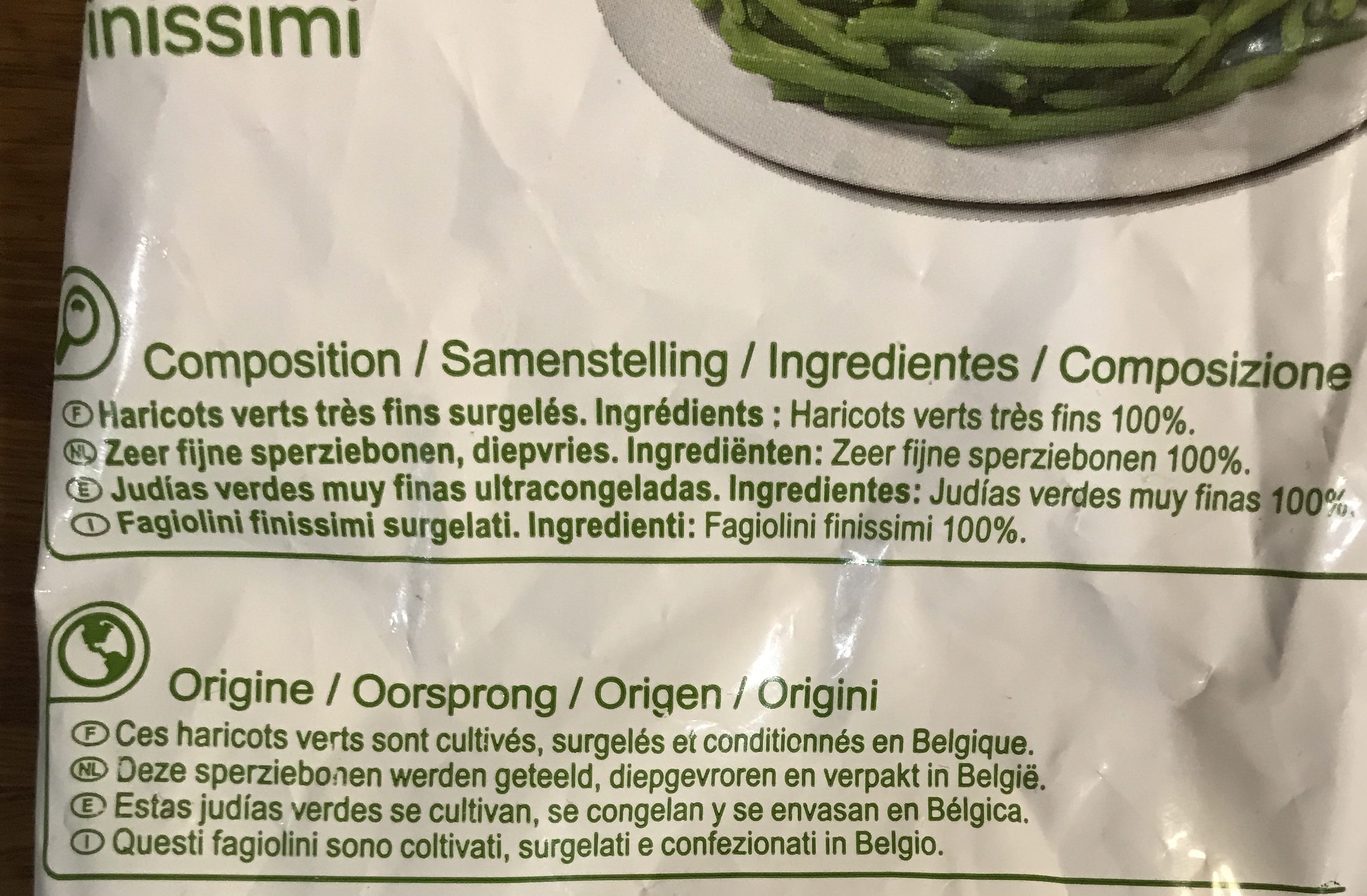 Haricots Verts Très Fins - Produkt