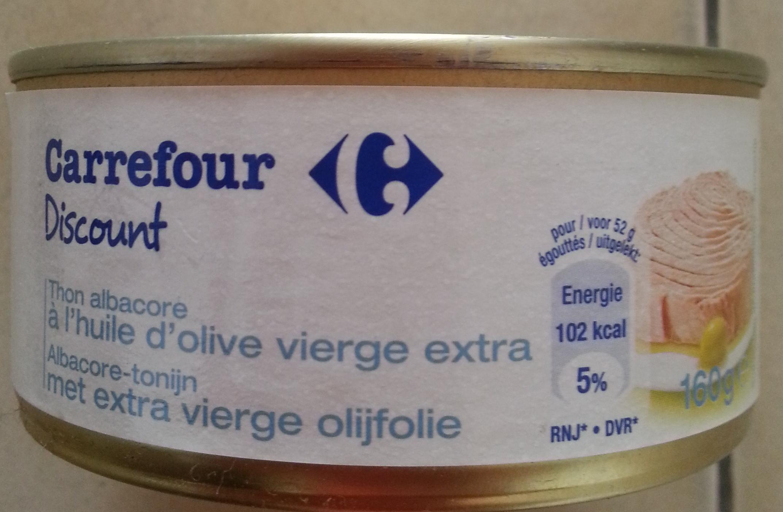 Thon albacore à l'huile d'olive vierge extra - Product - fr