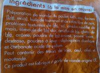 2KG Nuggets Poulet En Cuisine - Ingrédients - fr