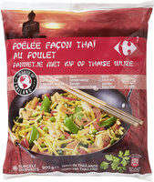 Poêlée façon Thaï au poulet - Produit - fr