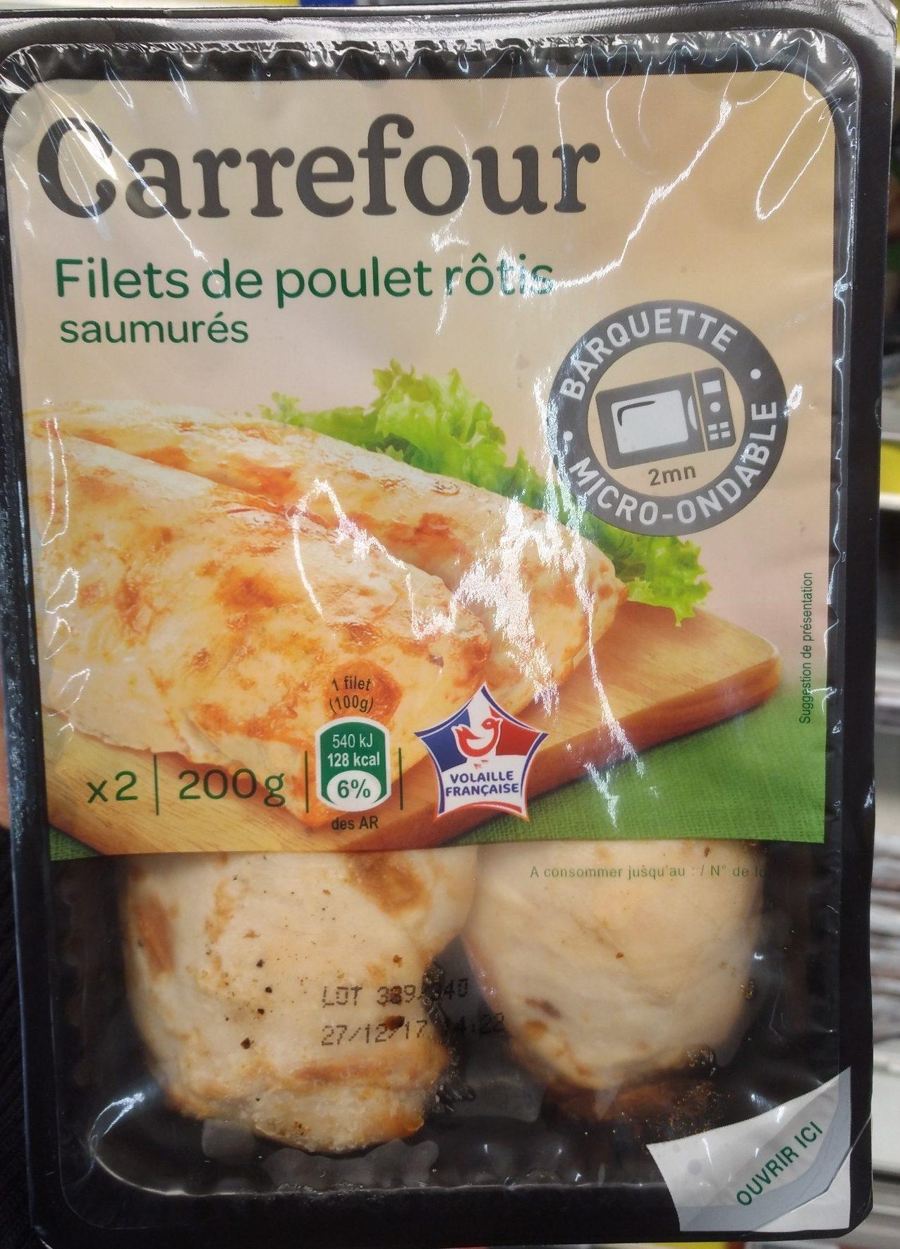 Filets De Poulets Rôtis, - Product