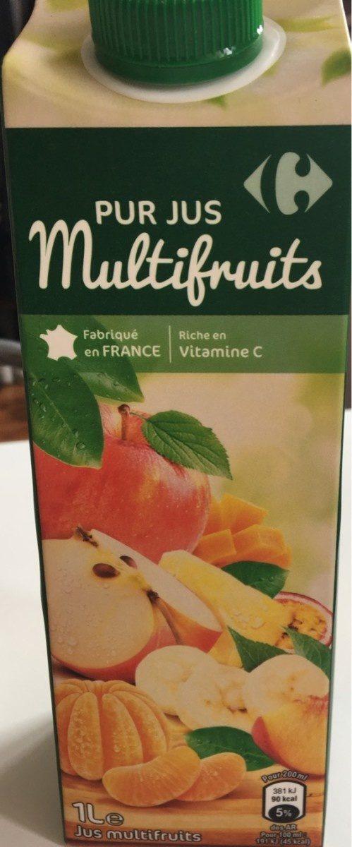 Multifruits, 100 % Pur Fruit Pressé - Product - fr