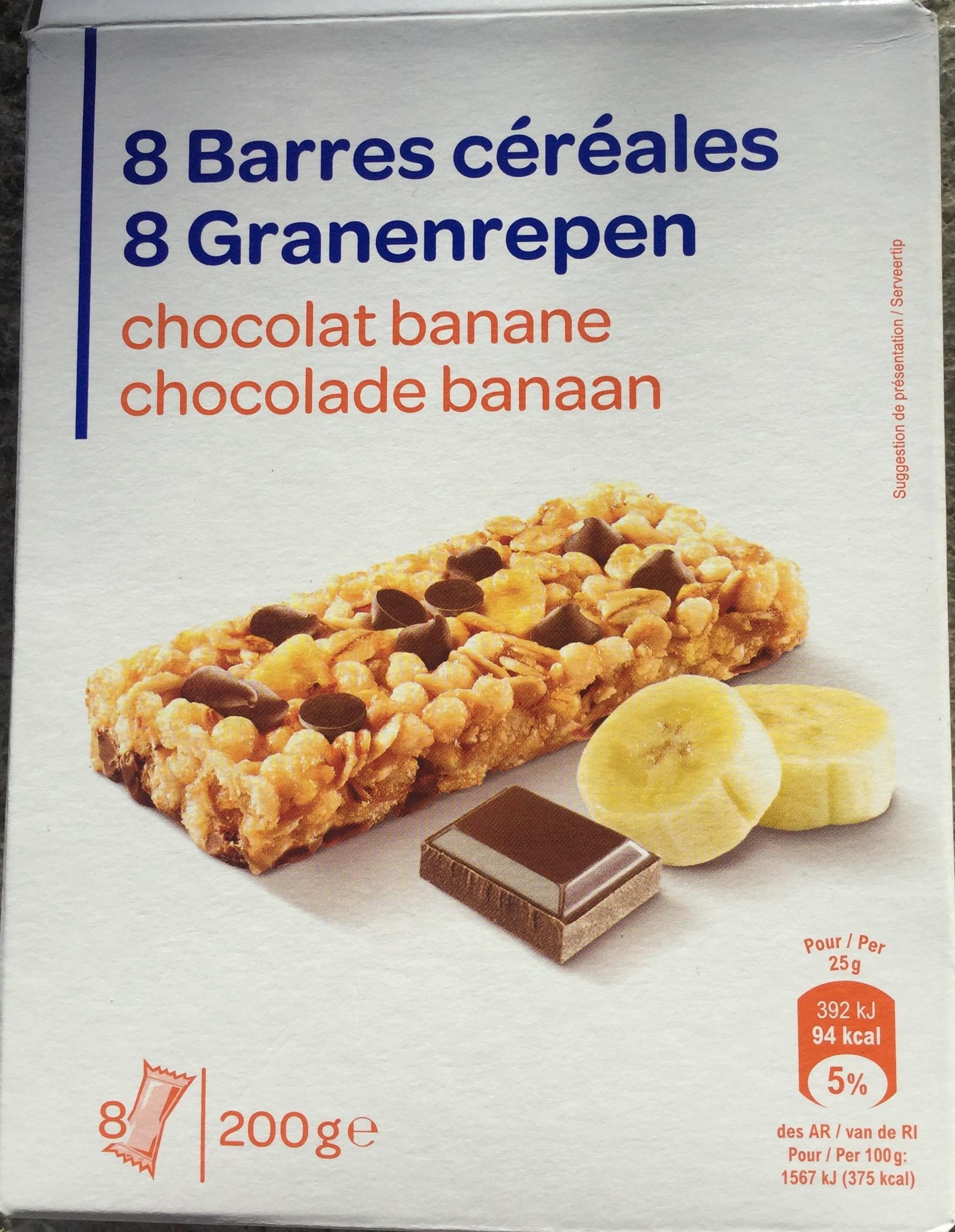 Barres céréales Chocolat Banane - Product