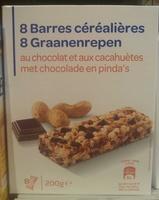 Barres céréalières au chocolat et aux cacahuètes - Product - fr