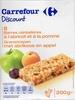 8 barres céréalières à l'abricot et à la pomme - Produit