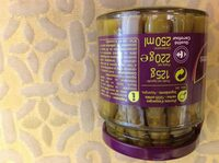 Pointes  d'asperges  vertes - Ingredients - fr