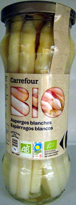 Asperges blanches Bio Carrefour - Product - fr