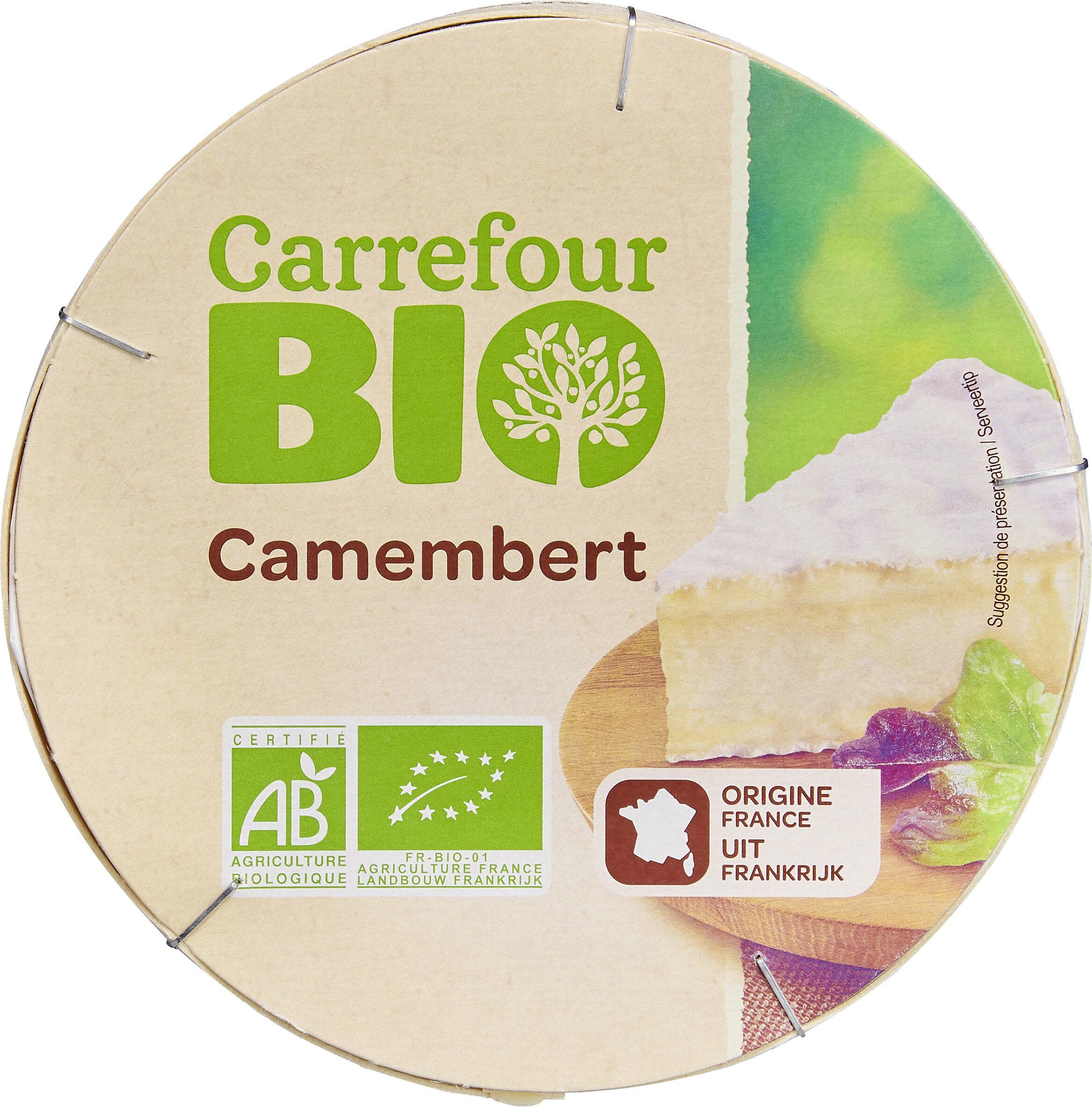 Camembert bio - Produit - fr
