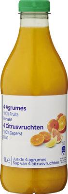4 Agrumes 100% Fruits Pressés - Produkt - fr