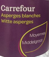 Asperges Blanches - Product - fr
