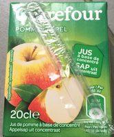 Pomme, Jus à base de concentré - Producte - fr