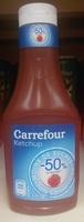 Ketchup -50% de sucres - Produit - fr