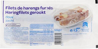 Filets de Hareng Fumés au Naturel - Prodotto - fr