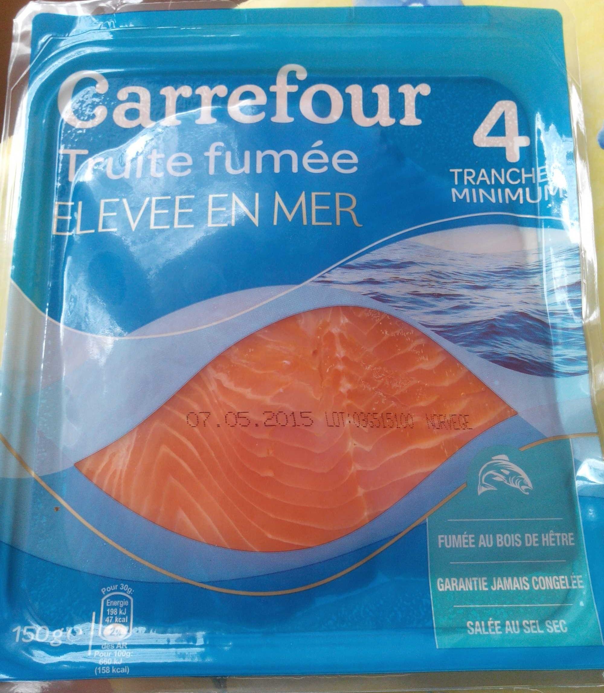 Truite fumée élevée en mer - Product - fr