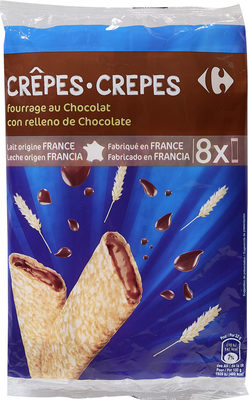 CRÊPES fourrage au Chocolat - Producto