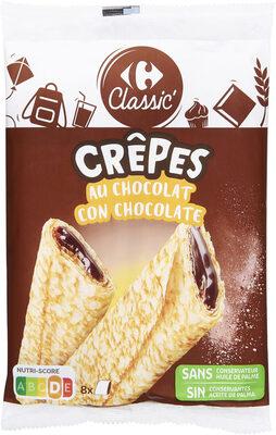 CRÊPES fourrage au Chocolat - Product - fr