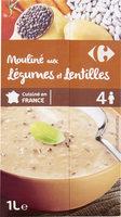 Mouliné aux Légumes et Lentilles - Product