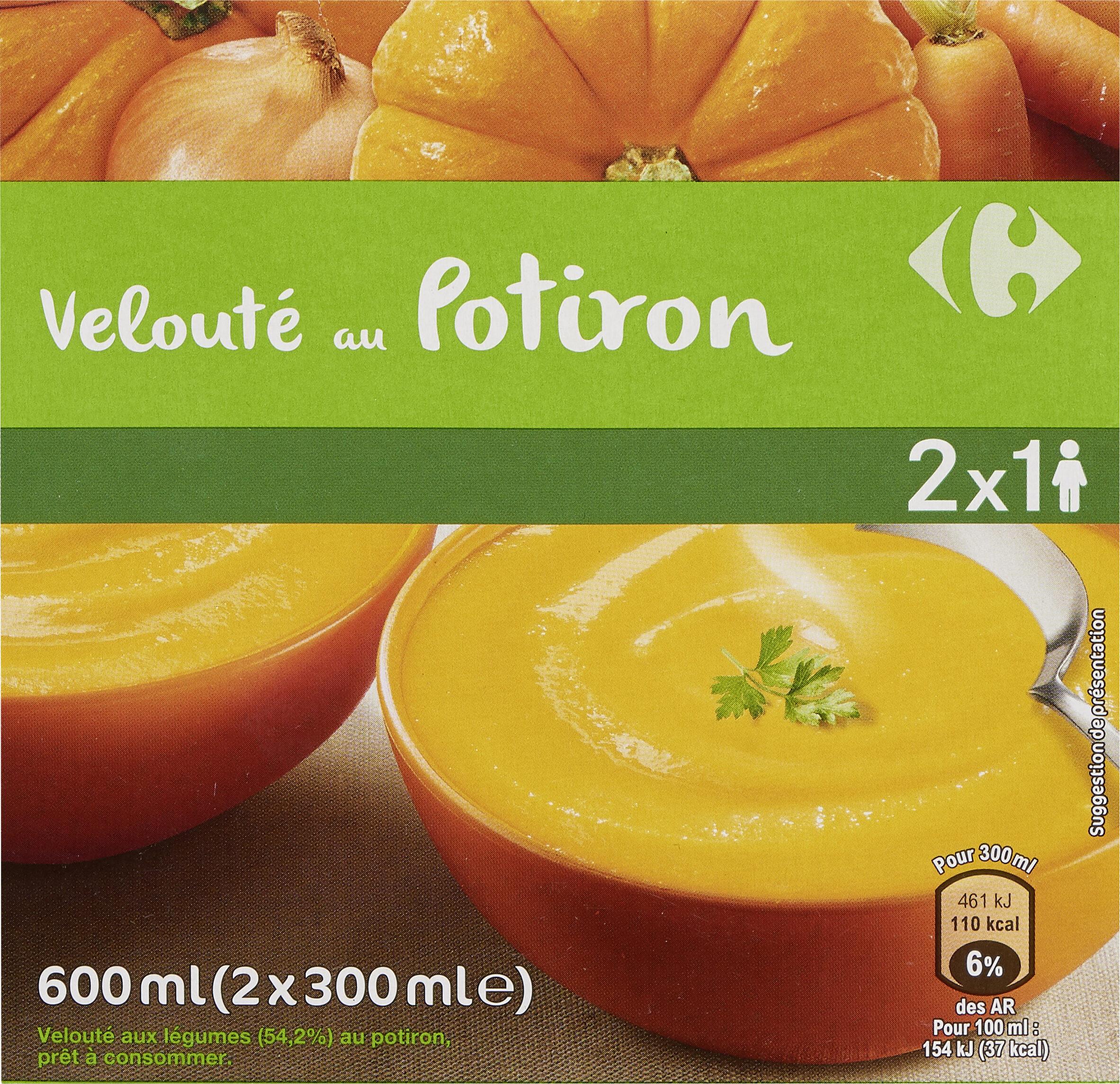 Velouté auPotiron - Produit - fr