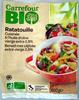 Ratatouille cuisinée à l'huile d'olive vierge extra 3,2% Bio - Produit