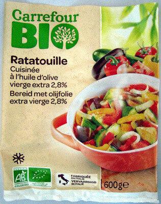 Ratatouille cuisinée à l'huile d'olive vierge extra 3,2% Bio - Produit - fr