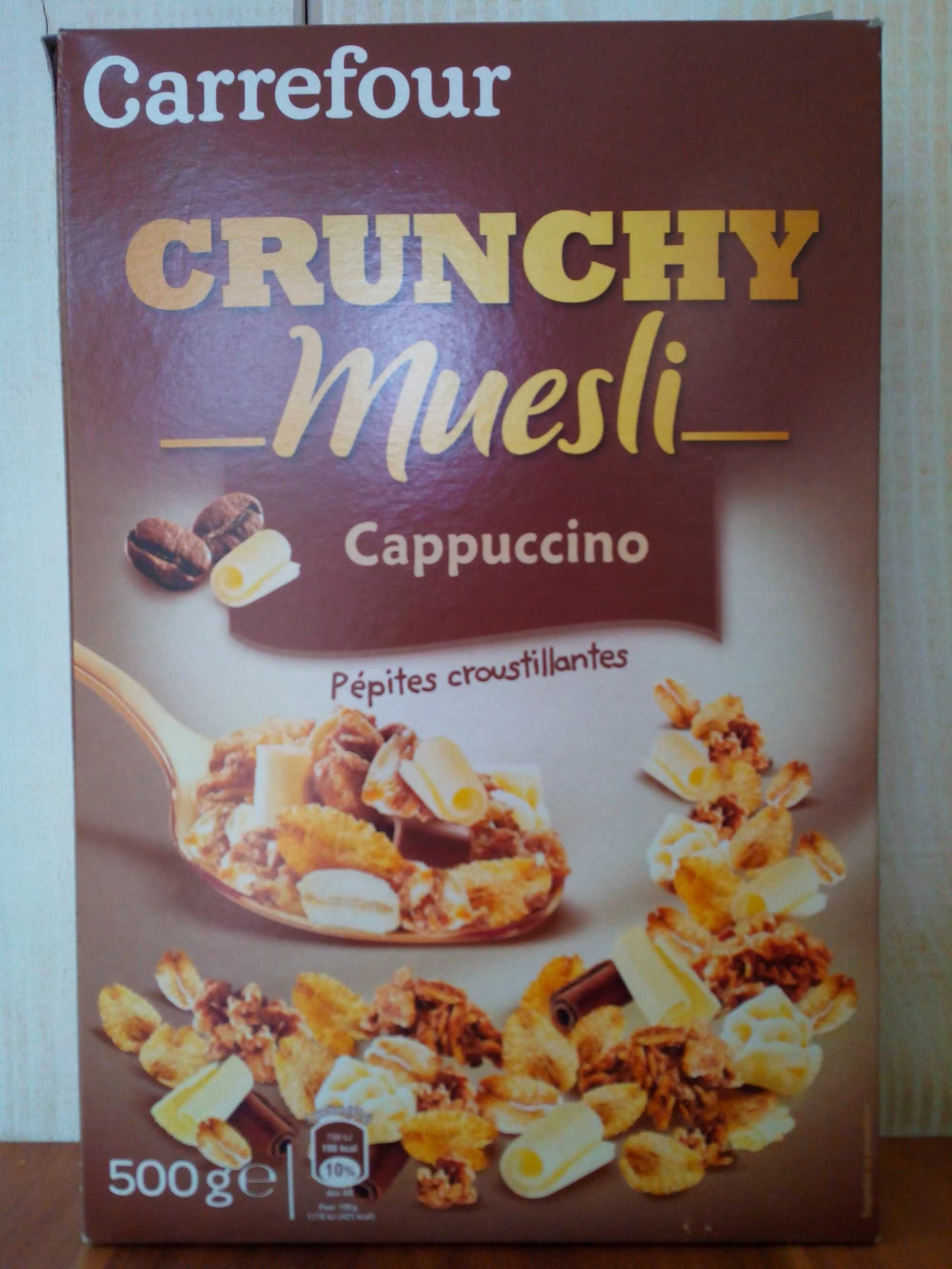 Crunchy Muesli Cappucino - Produit - fr