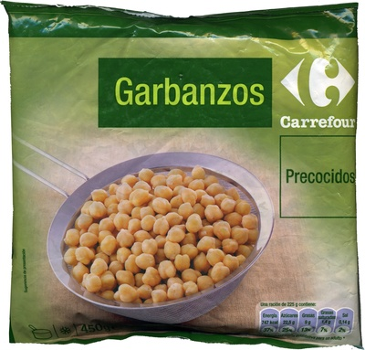 "Garbanzos cocidos congelados ""Carrefour"" - Producto"