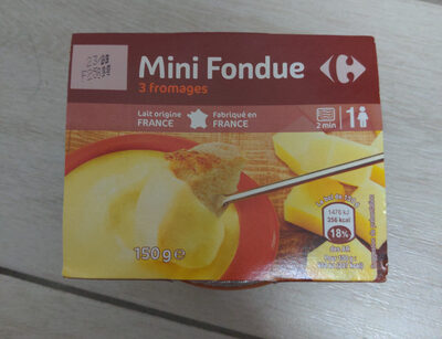 Mini-Fondue 3 Fromages - Product - fr