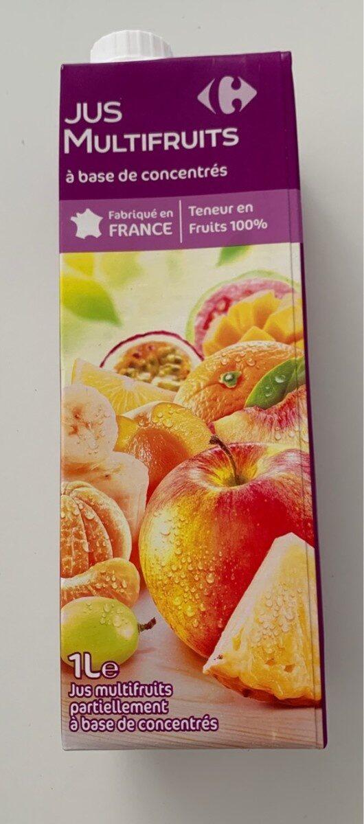 Multifruits, Jus à base de concentrés - Product - fr
