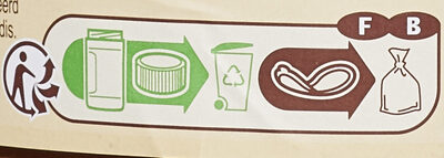 Pâte à tartiner - Recycling instructions and/or packaging information - fr