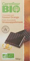 Chocolat noir - Produit
