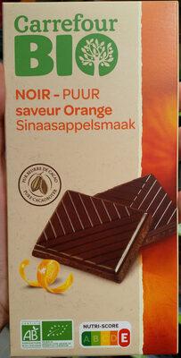 Chocolat noir saveur orange - Produit