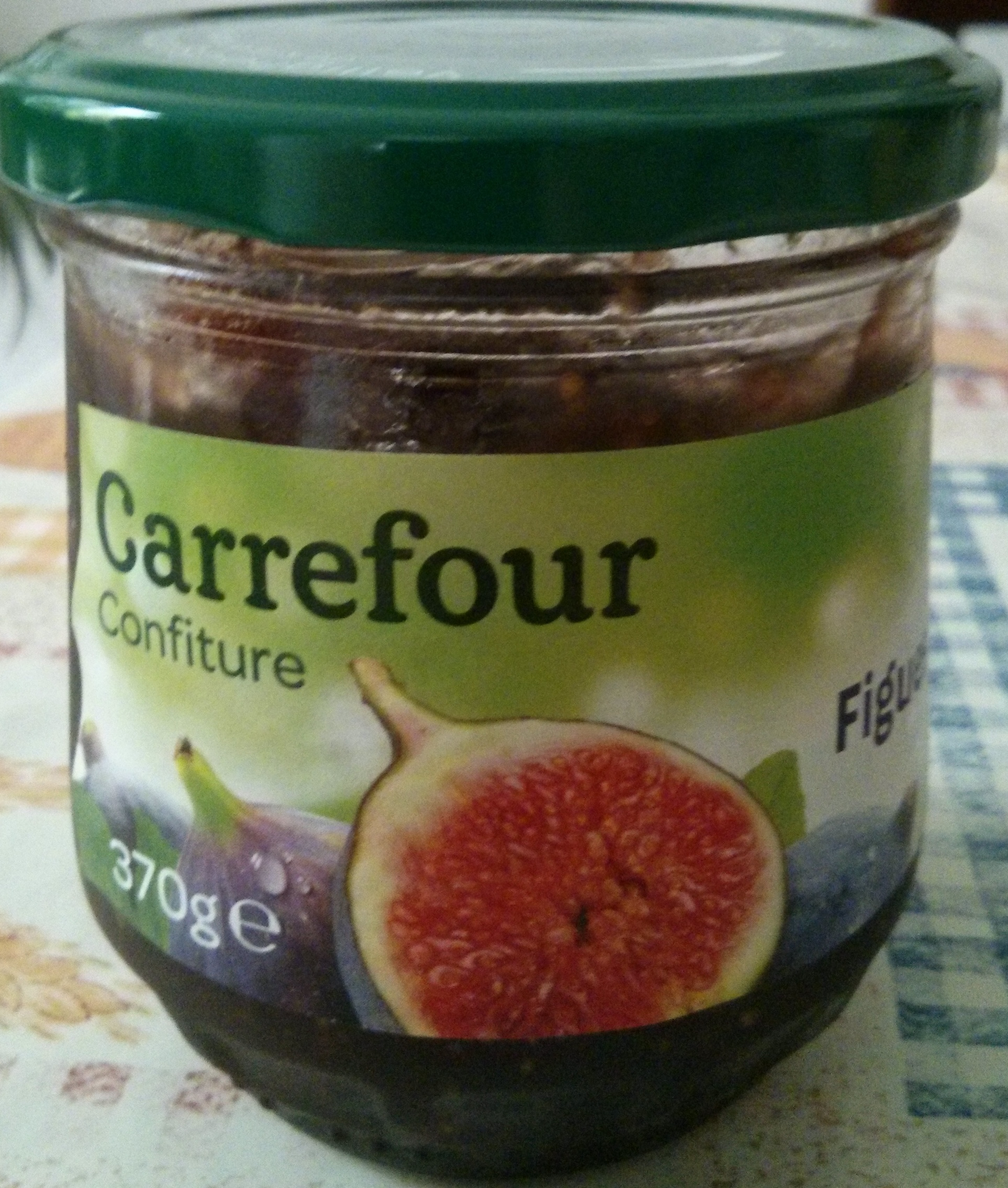confiture de figues carrefour