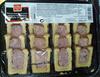 Plateau Panaché De Petit Pâté En Croute Jambon Et Volaille 16 Tranches - Product