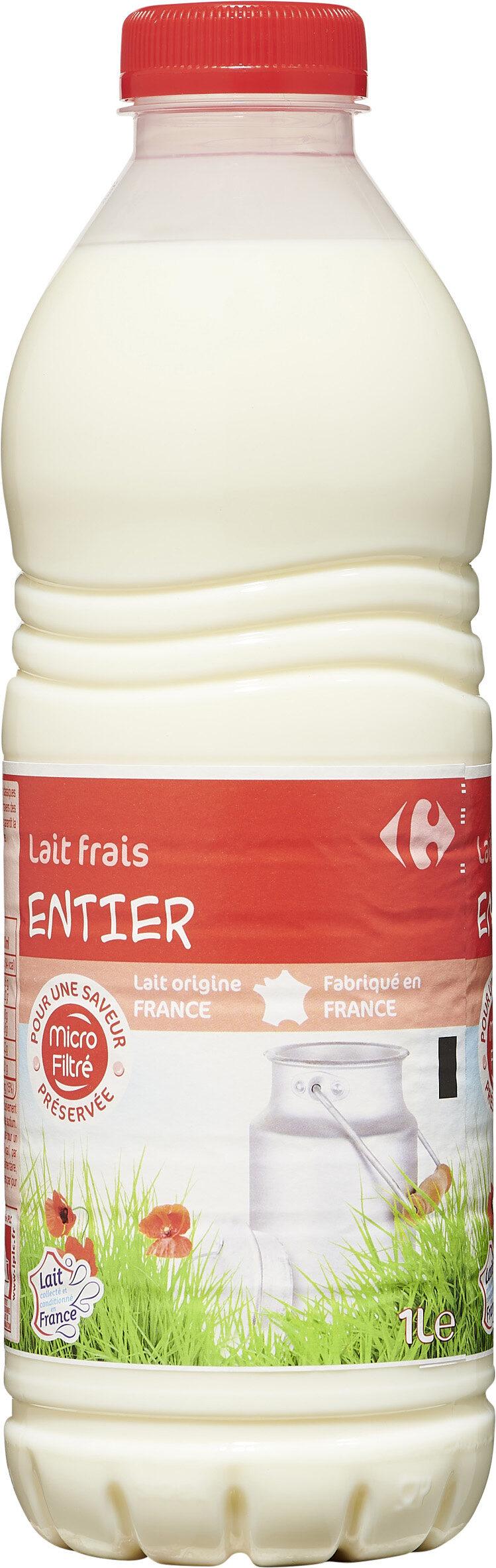 Lait frais ENTIER - Prodotto - fr