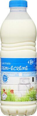 Lait frais demi-écrémé - Produit - fr