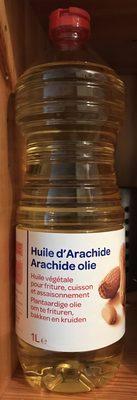 Huile d'arachide - Produit