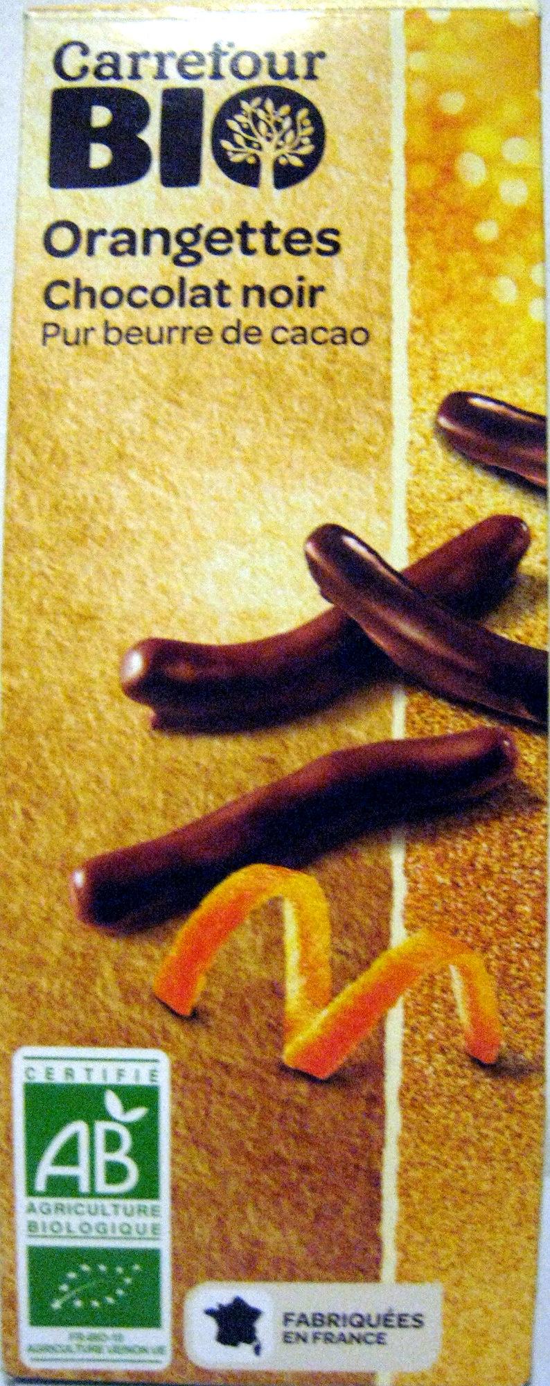 Orangettes Chocolat noir - Product