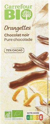 Orangettes - Chocolat noir - Prodotto - fr