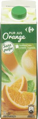 PUR JUS Orange - Produit - fr