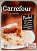 Les Brasseries Poulet à la crème et son riz cuisiné aux champignons - Produkt