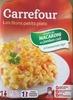 Les Bons Petits Plats - Gratin de Macaroni au jambon cuit à l'emmental râpé - Produit