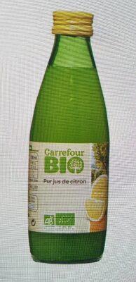 jus de citron CARREFOUR BIO - 13