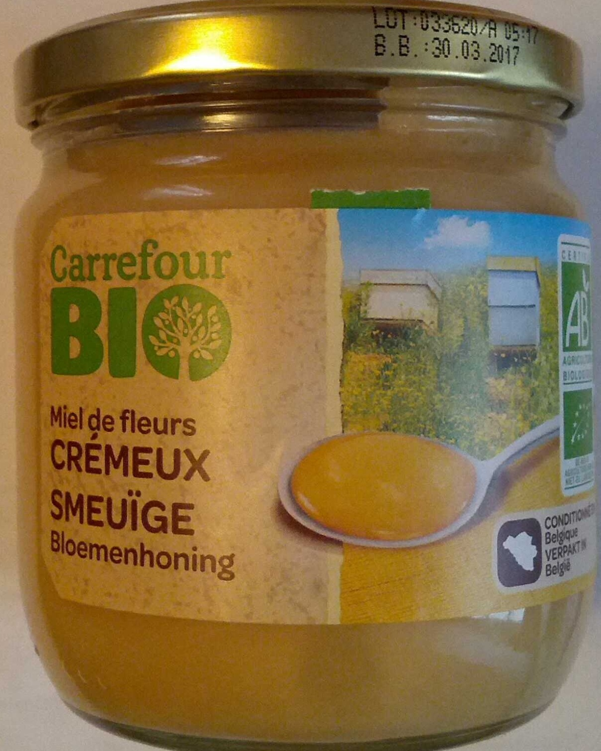 Miel de Fleurs Crémeux Bio - Product - fr